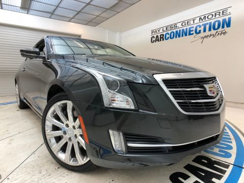 Pre-Owned 2015 Cadillac ATS Coupe 2DR CPE 3.6L PREMIUM AWD