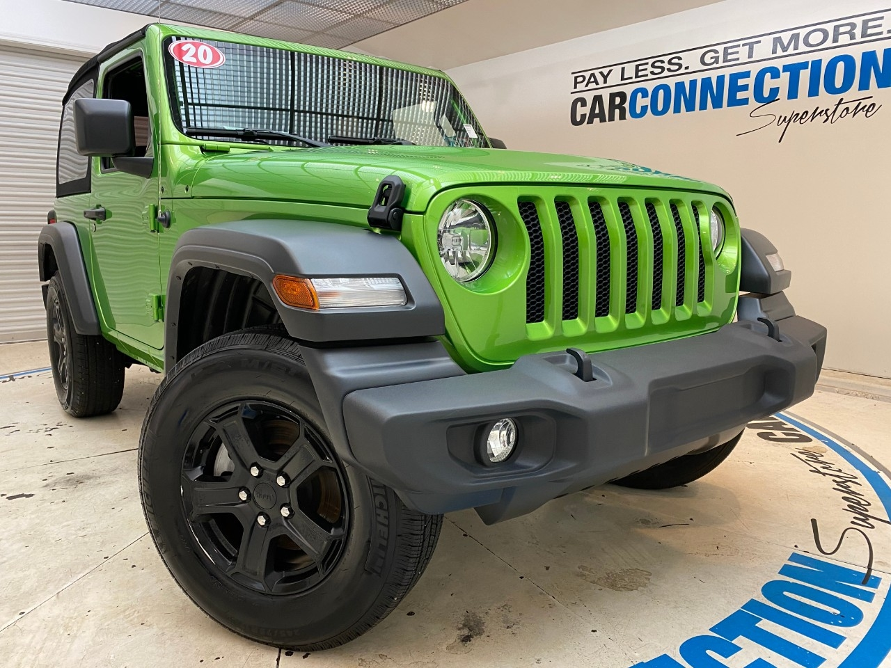 Pre-Owned 2020 Jeep Wrangler SPORT S 4X4