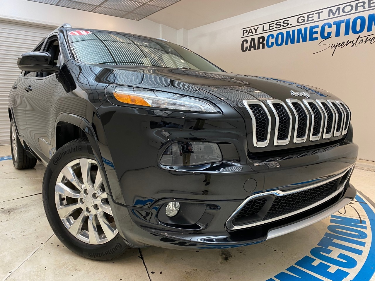 Pre-Owned 2018 Jeep Cherokee OVERLAND 4X4