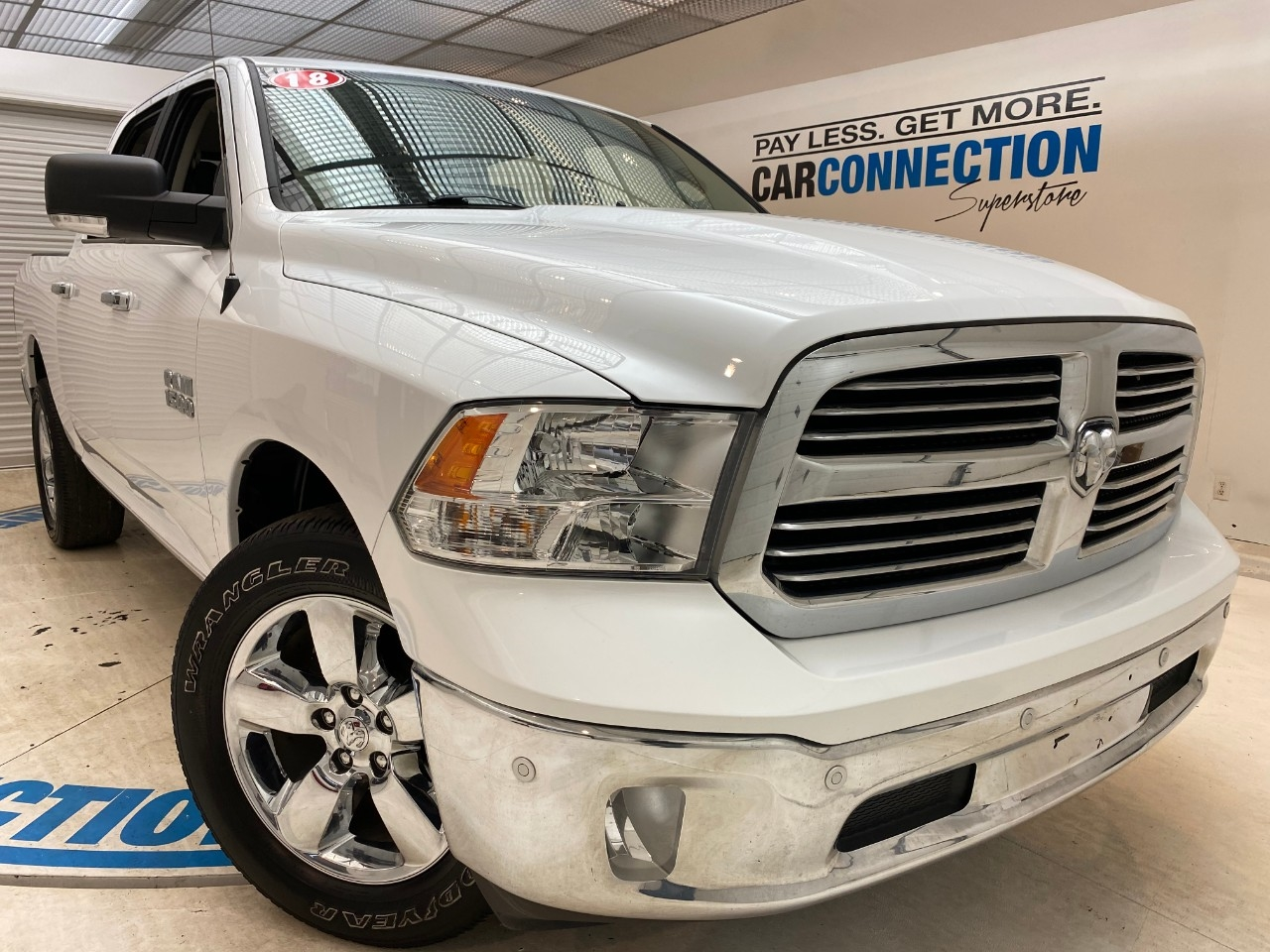 Pre-Owned 2018 Ram 1500 BIG HORN 4X4 CREW CAB 5'7 BOX