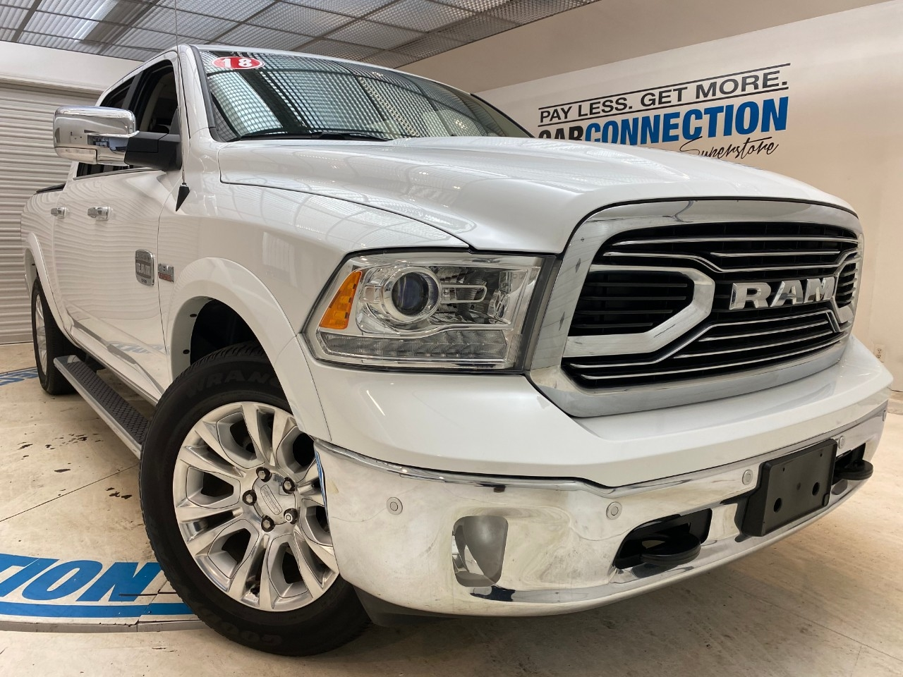 Pre-Owned 2018 Ram 1500 Longhorn 4x4 Crew Cab 5'7 Box