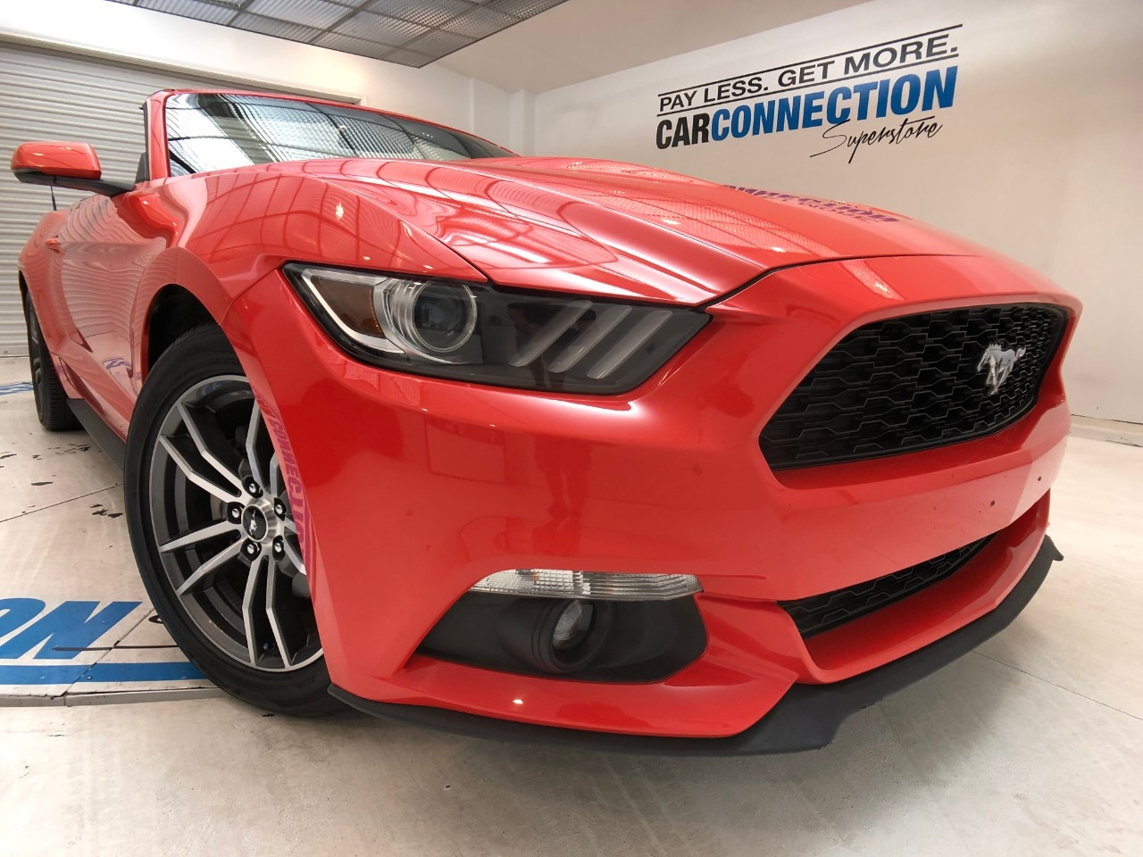 Pre-Owned 2016 Ford Mustang 2DR CONV ECOBOOST PREMIUM