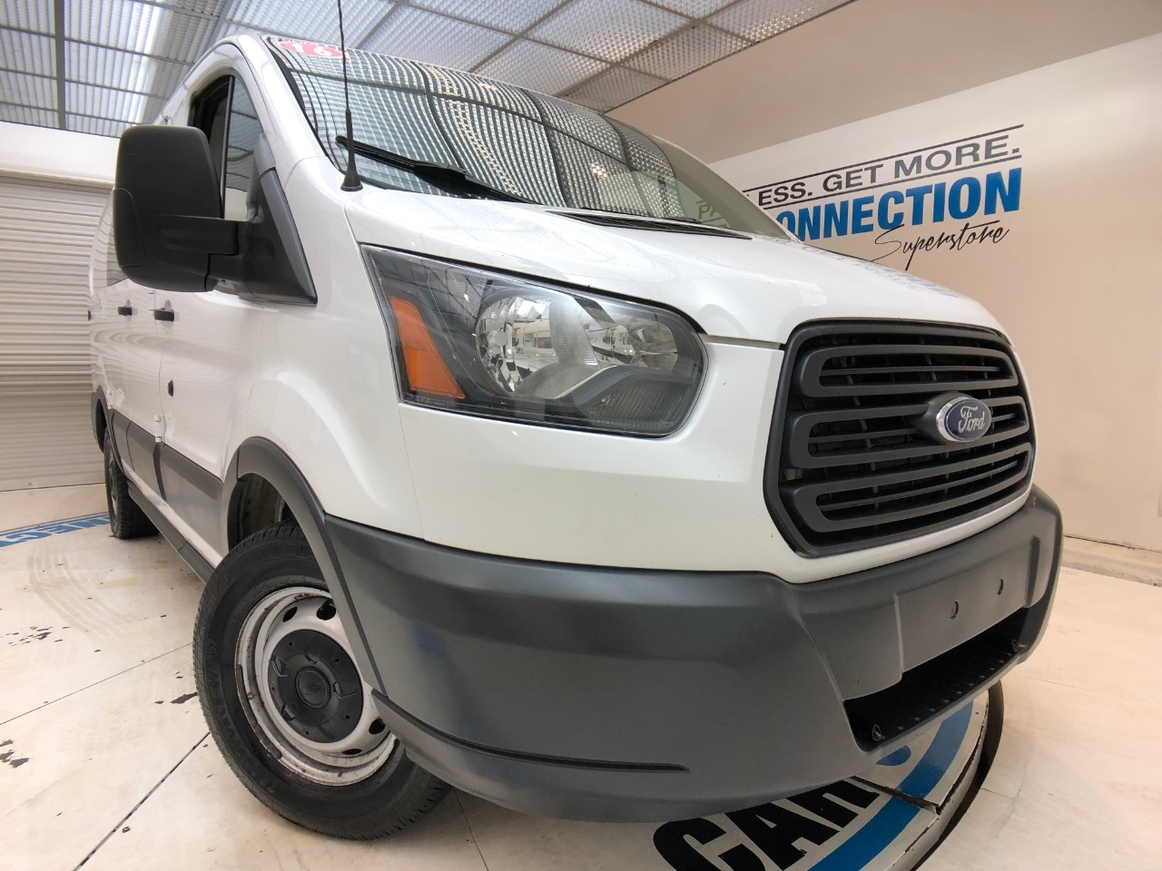 Pre-Owned 2016 Ford Transit Cargo Van T-150 130 LOW RF 8600 GVWR SWING-OUT RH DR