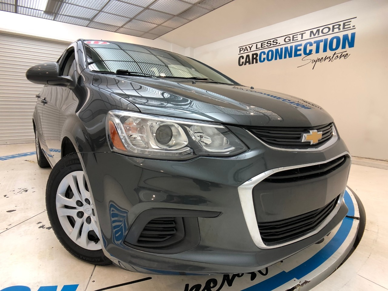 Pre-Owned 2017 Chevrolet Sonic 4dr Sdn Manual LS