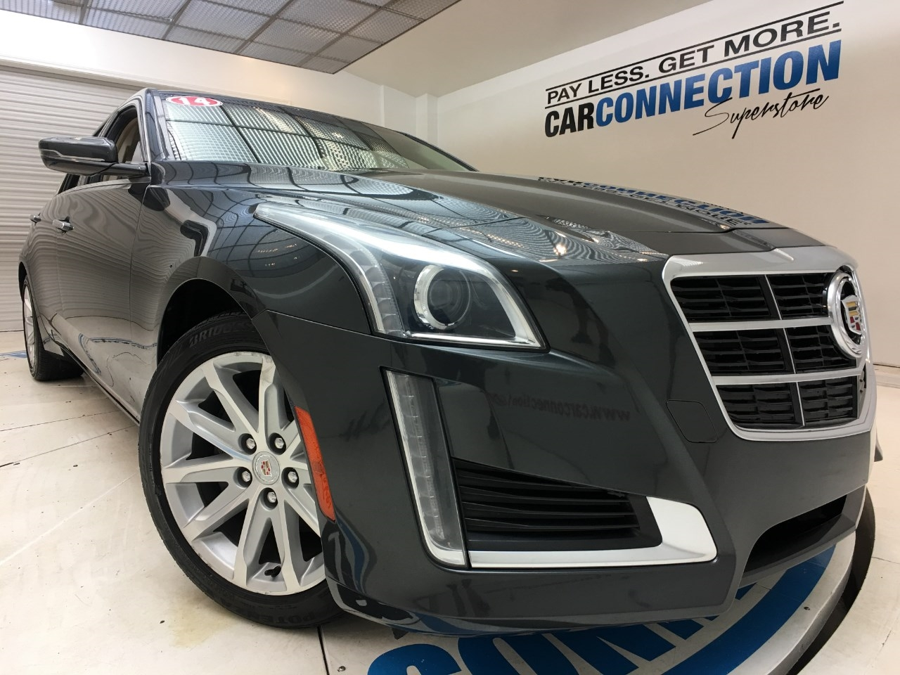 Pre-Owned 2014 Cadillac CTS Sedan 4dr Sdn 2.0L Turbo Luxury AWD