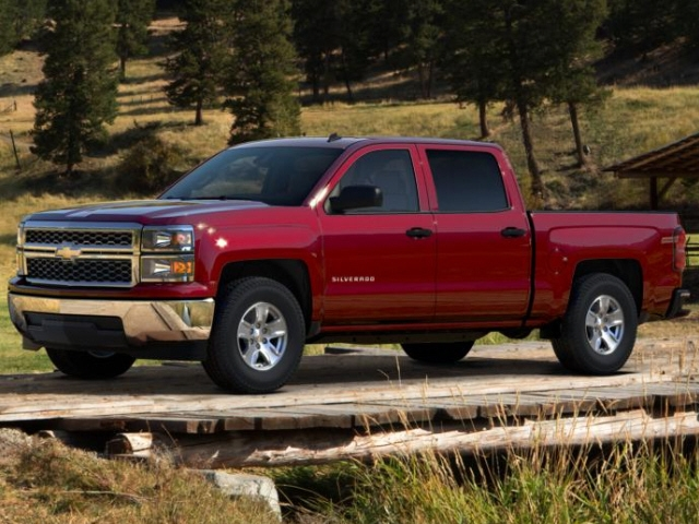 2015 Chevrolet SILVERADO 1500 CAR REAR WHEEL DRIVE truck