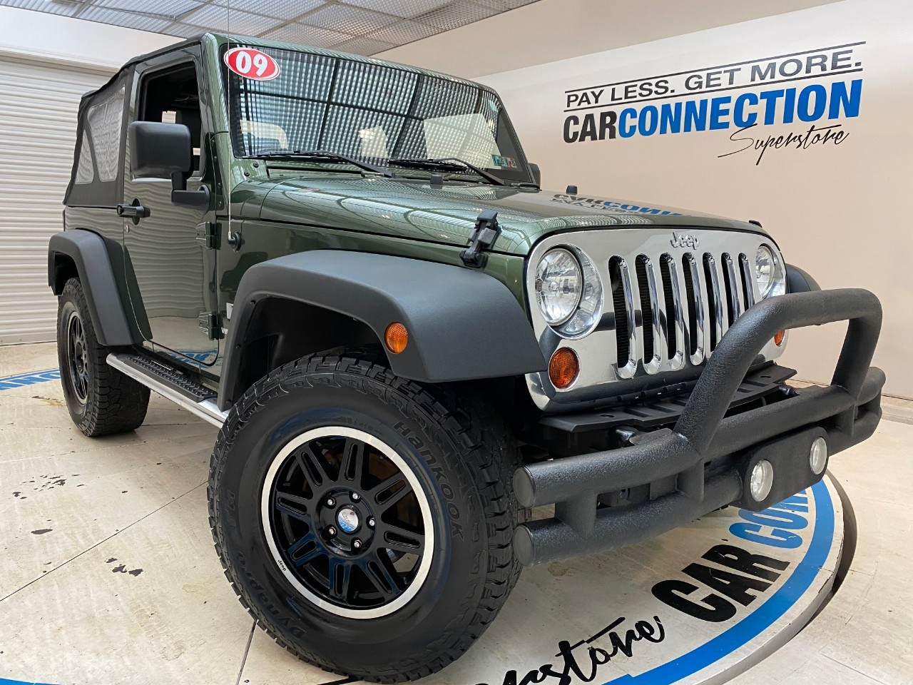 Pre-Owned 2009 Jeep Wrangler 4WD 2DR X