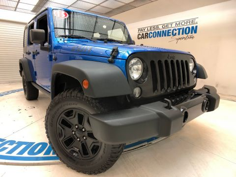 Pre-Owned 2015 Jeep Wrangler Unlimited 4WD 4DR WILLYS WHEELER