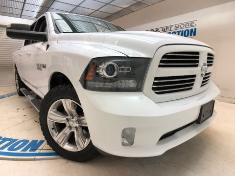 Pre-Owned 2017 Ram 1500 SPORT 4X4 CREW CAB 6'4 BOX