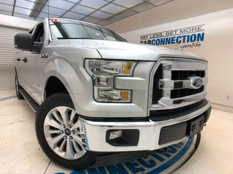 Pre-Owned 2016 Ford F-150 4WD SUPERCREW XLT NAVIGATION, PRO TRAILER BACKUP ASSIST!!