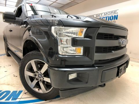 Pre-Owned 2017 Ford F-150 LARIAT 4WD SUPERCAB 6.5' BOX