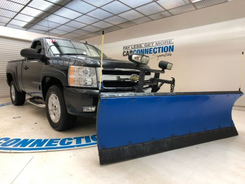 Pre-Owned 2007 Chevrolet Silverado 1500 LT WITH WESTERN PLOW ASSEMBLY
