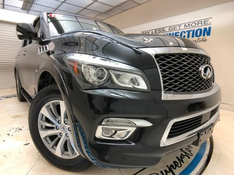 Pre-Owned 2016 INFINITI QX80 4WD 4DR LIMITED