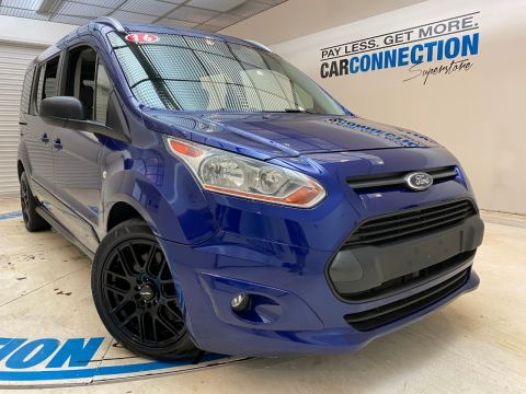 Pre-Owned 2016 Ford Transit Connect Wagon 4dr Wgn LWB XLT w/Rear Liftgate
